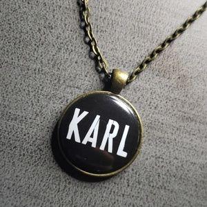 Jewelry - Bottle cap pendant necklace